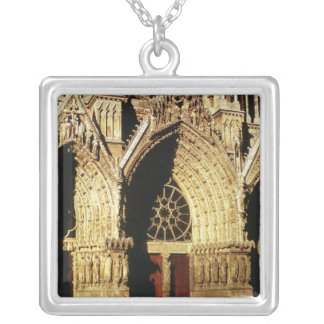 View of the West Front portals Custom Jewelry