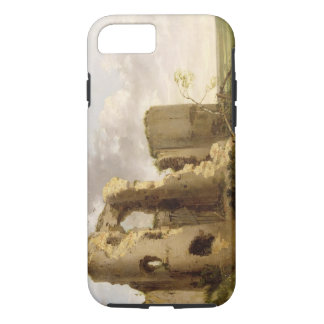 View of the West Gate of Pevensey Castle, Sussex, iPhone 7 Case