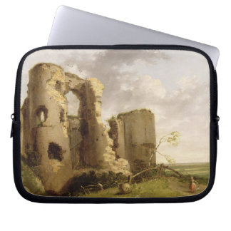View of the West Gate of Pevensey Castle, Sussex, Laptop Sleeve