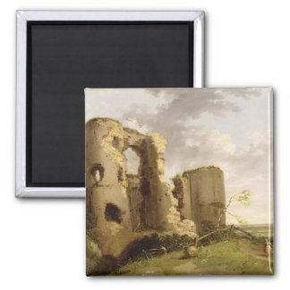 View of the West Gate of Pevensey Castle, Sussex, Magnet