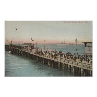 View of the Wharf Poster