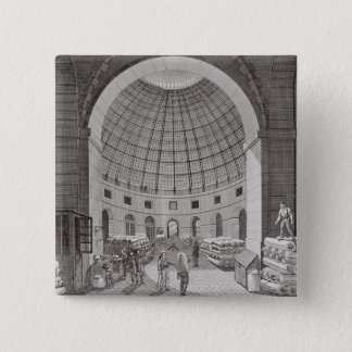 View of the Wheat Market and the Cupola Pinback Button