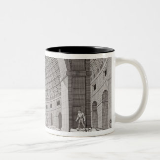 View of the Wheat Market and the Cupola Two-Tone Coffee Mug