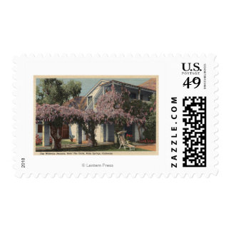 View of the Wisteria Pergola, Oasis Hotel Stamps
