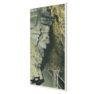 View of the Witches of the Grottoes Canvas Print