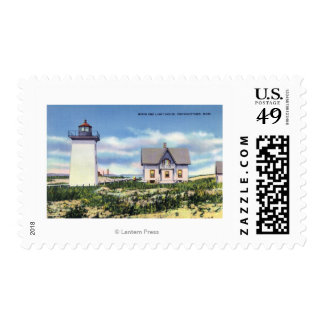 View of the Wood End Lighthouse Postage
