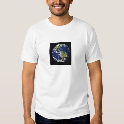 View Of The World From Space T-Shirt