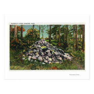 View of Thoreau's Cairn Post Cards