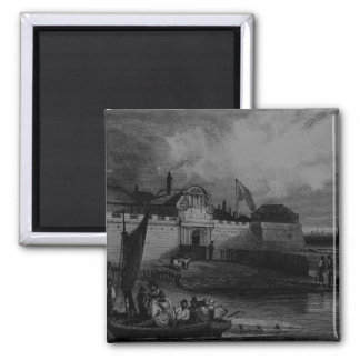 View of Tilbury Fort, engraved by H. Adhard Magnet