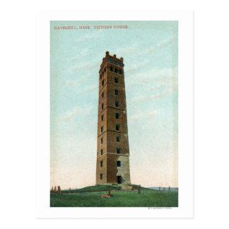 View of Tilton's Tower Postcard