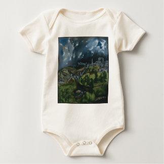 View of Toledo Baby Bodysuit