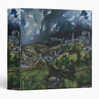 View of Toledo by El Greco Binder