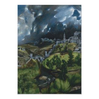 View of Toledo by El Greco Card