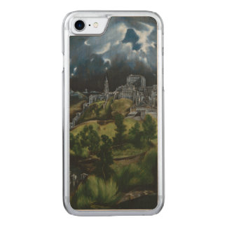 View of Toledo by El Greco Carved iPhone 7 Case