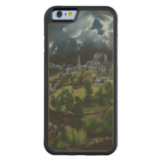 View of Toledo by El Greco Carved Maple iPhone 6 Bumper Case