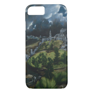 View of Toledo by El Greco iPhone 7 Case