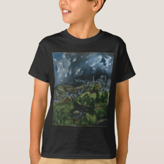 View of Toledo by El Greco T-Shirt