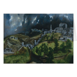 View of Toledo Card