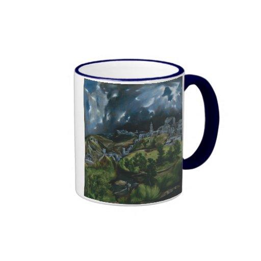 View of Toledo, El Greco Coffee Mug