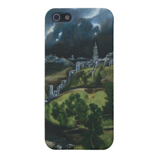 View of Toledo, El Greco Cover For iPhone SE/5/5s