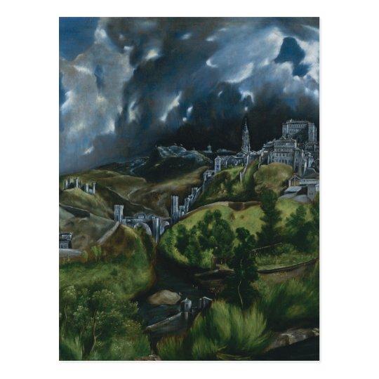 View of Toledo Postcard