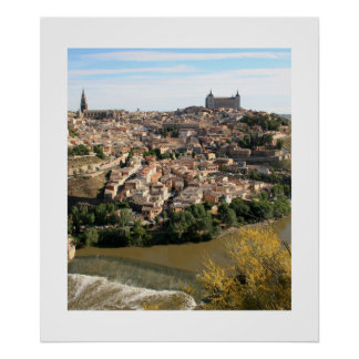 View of Toledo Poster