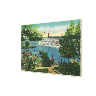 View of Toronto Steamer Canvas Print