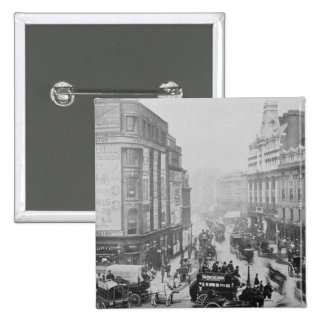 View of Tottenham Court Road c 1885 Button