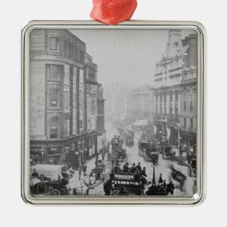 View of Tottenham Court Road, c.1885 Metal Ornament