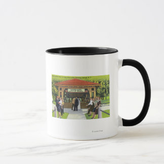 View of Tourists at the Hathorn Spring House Mug