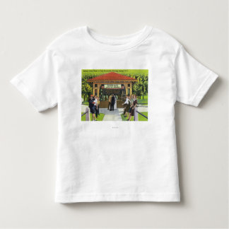 View of Tourists at the Hathorn Spring House Toddler T-shirt