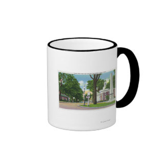 View of Town Hall and Paterson Monument Mug