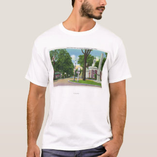 View of Town Hall and Paterson Monument T-Shirt