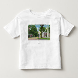 View of Town Hall and Paterson Monument Toddler T-shirt