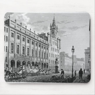View of Town Hall, Exchange, Glasgow Mouse Pad