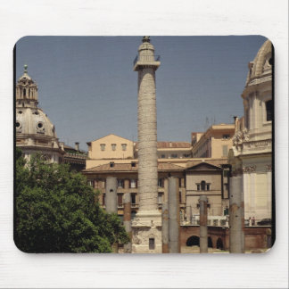 View of Trajan's Column, 113 AD Mouse Pad