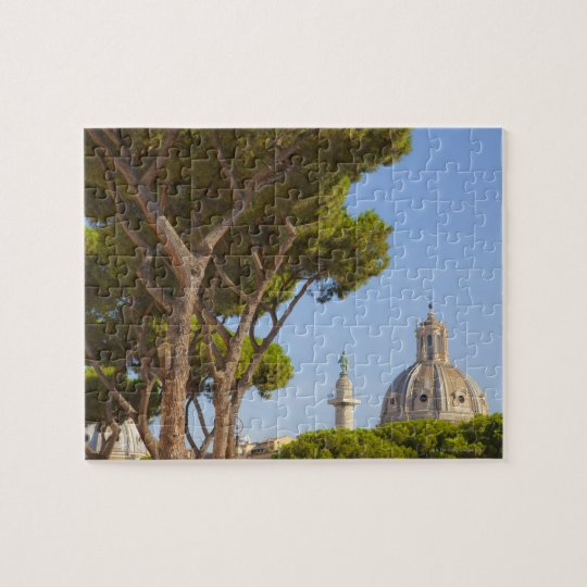 View of Trajan's Column Jigsaw Puzzle