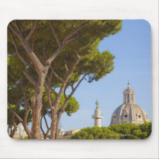 View of Trajan's Column Mouse Pad