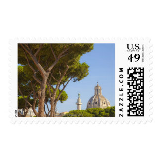 View of Trajan's Column Postage Stamps