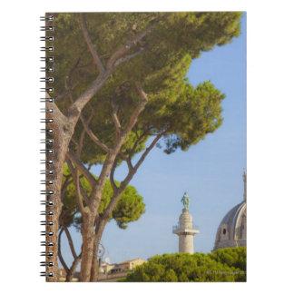 View of Trajan's Column Spiral Notebook