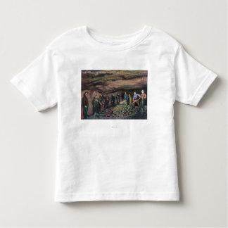 View of Treadwell Mine Gold MinersJuneau, AK Toddler T-shirt