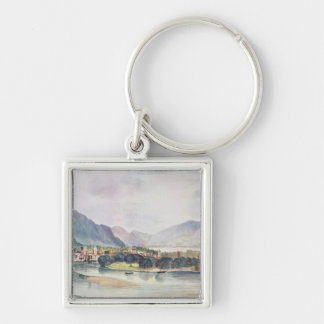 View of Trente, 1494 Keychain