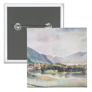 View of Trente, 1494 Pinback Button