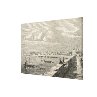 View of Tripoli Canvas Print
