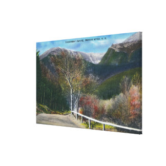 View of Tuckermans Ravine Canvas Print