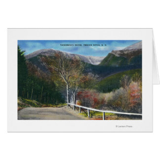 View of Tuckermans Ravine Card