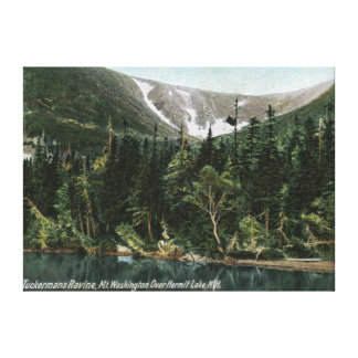 View of Tuckermans Ravine, Mt. Washington Canvas Print