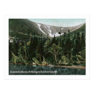 View of Tuckermans Ravine, Mt. Washington Postcard
