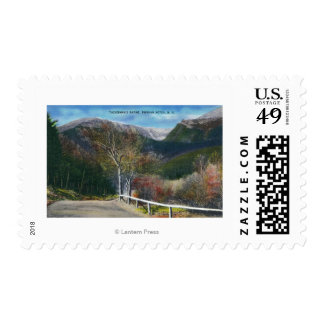 View of Tuckermans Ravine Postage