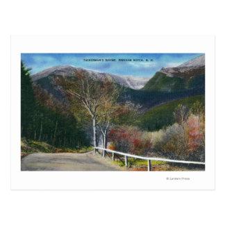 View of Tuckermans Ravine Postcard